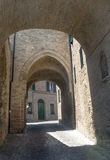 Montelupone (Marches, Italy) Royalty Free Stock Photos