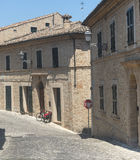 Montelupone (Marches, Italy) Royalty Free Stock Photo