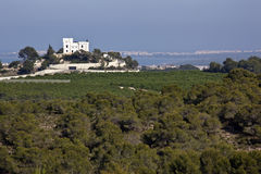 Montemar Castle - Costa Blanca - Spain Stock Images