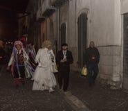Montemarano, Irpinia (las TIC) Festival de vino 2015 Fotografía de archivo
