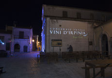 Montemarano, Irpinia (IT). Wine Festival 2015 Royalty Free Stock Images