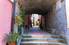 Montemarcello Village - Liguria Italy Stock Image