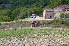 Montemonaco Altino Ascoli Piceno, Włochy, - Obrazy Royalty Free