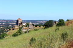 Montemor o Novo castle, Alentejo, Portugal Royalty Free Stock Photography