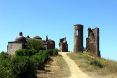 Montemor o Novo castle, Alentejo, Portugal Stock Images