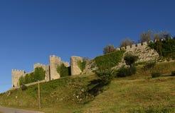 Montemor o velho城堡  库存图片