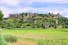 Montemor-o-Velho Castelo Fotografia Royalty Free