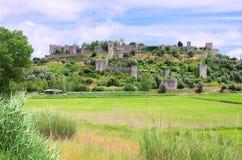 Montemor-o-Velho Castelo Стоковое Изображение