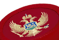 montenegrian的盖帽 库存照片