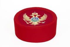 montenegrian的盖帽 免版税图库摄影
