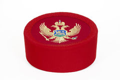 Montenegrian cap Royalty Free Stock Photography