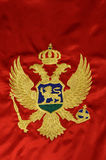 Montenegrian flag Royalty Free Stock Image