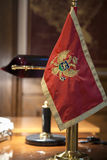 Montenegrin flag Royalty Free Stock Image
