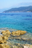 Montenegrin maritime landscape Royalty Free Stock Photos