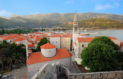 Montenegrin town Budva Royalty Free Stock Photo