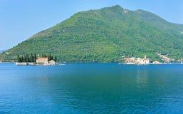 Montenegrin town Perast Stock Image