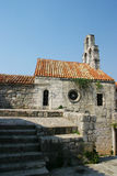 Montenegrin traditional stone house Stock Image