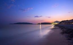 montenegro海边 免版税库存照片
