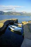 Montenegro的沿海视图 免版税库存图片