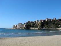 montenegro老城镇ulcinj 免版税库存照片