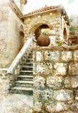 montenegro старый Стоковая Фотография RF