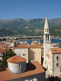 Montenegro. Summer in Montenegro, Adriatic sea, Budva Stock Photo