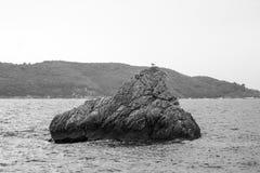 Montenegro, Adriatische overzees Royalty-vrije Stock Afbeeldingen