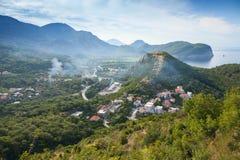 Montenegro. Adriatisches Seeberglandschaft Stockbilder