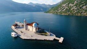 Montenegro, baailucht het schieten stock videobeelden
