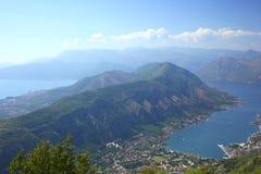 Montenegro. Bay of Kotor Royalty Free Stock Photos