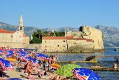 Montenegro, beach Royalty Free Stock Photography