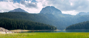 Montenegro. Black lake Stock Photo