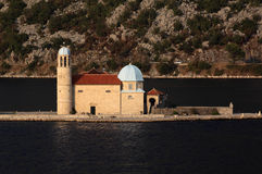 Montenegro, 'Boka Kotorska' church Royalty Free Stock Images