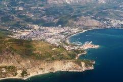 Montenegro, Budva fotografia stock