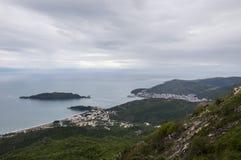Montenegro, Budva royalty-vrije stock foto's