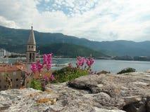 Montenegro, Budva imagem de stock