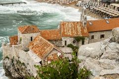 Montenegro, Budva fotografía de archivo libre de regalías