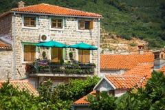 Montenegro, Budva, old town Royalty Free Stock Image