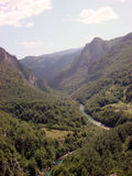 Montenegro.Canyon Lizenzfreie Stockfotos