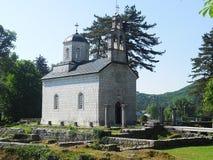 Montenegro. Chapel capital of Montenegro is Podgorica Royalty Free Stock Image