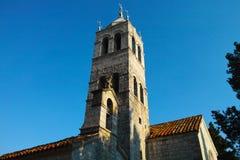 Montenegro church monastery Royalty Free Stock Image