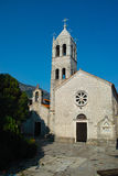 Montenegro church monastery Stock Image