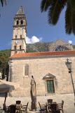 Montenegro. Church in Perast Royalty Free Stock Photography