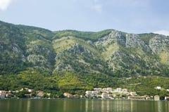 montenegro Città-museo di Cattaro Immagini Stock Libere da Diritti