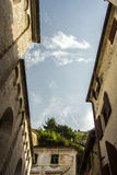 montenegro Città-museo di Cattaro Fotografia Stock Libera da Diritti