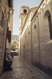 montenegro Città-museo di Cattaro Fotografia Stock