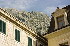 montenegro Città-museo di Cattaro Immagine Stock