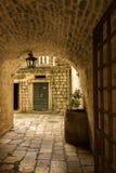 montenegro Città-museo di Cattaro Immagini Stock
