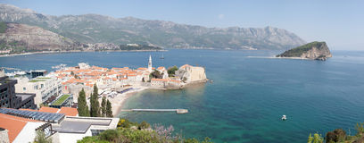 Montenegro City of Budva Stock Photography