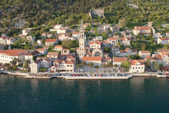 Montenegro City of Perast Royalty Free Stock Photo